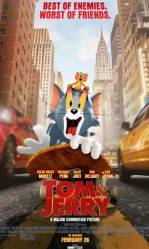 Capa filme Tom & Jerry